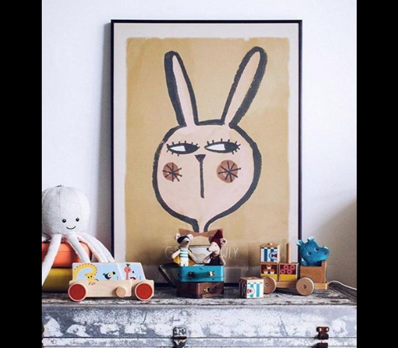 Studio Loco Poster Kaninchen 50x70