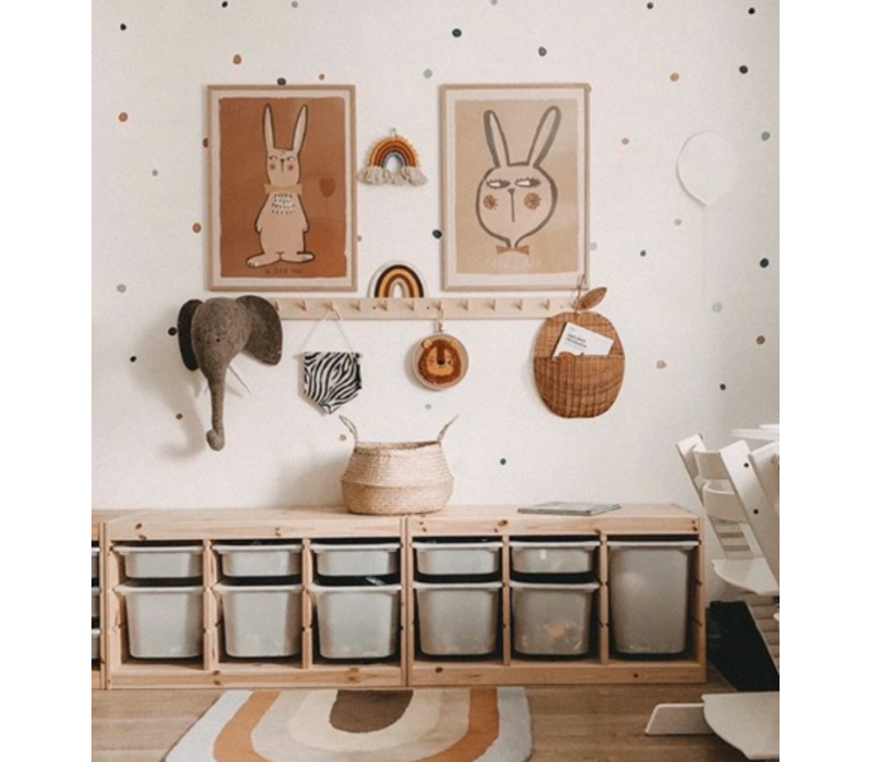 Studio Loco poster konijn 50x70