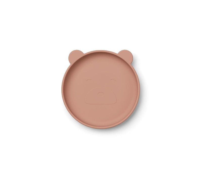 Liewood Olivia plate rose mix - 2 pack