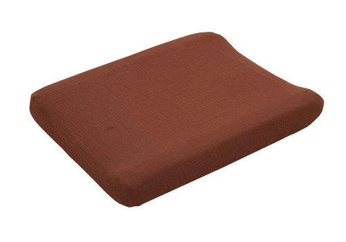 Garbo & Friends changing pad cover Muslin Cinnamon