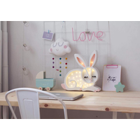 Little Lights lamp bunny snow white
