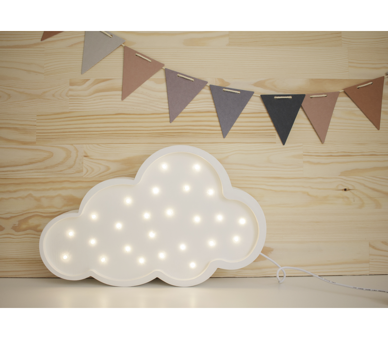 Little Lights lamp cloud white