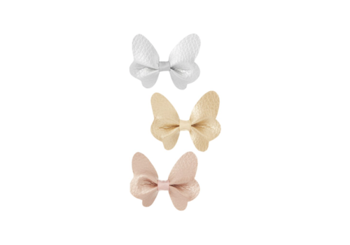 Mimi & Lula hair clips Butterfly with bows, 3 pack