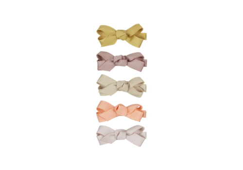 Mimi & Lula hair clips mini Florence with bow, 5 pack