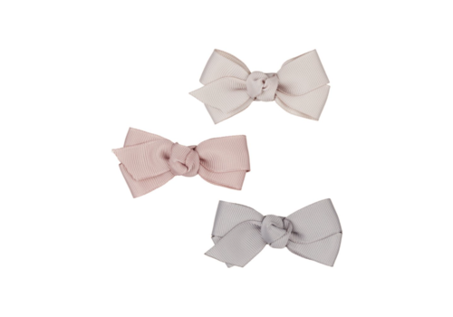 Mimi & Lula hair clips Florence Bow pink, 3 pack