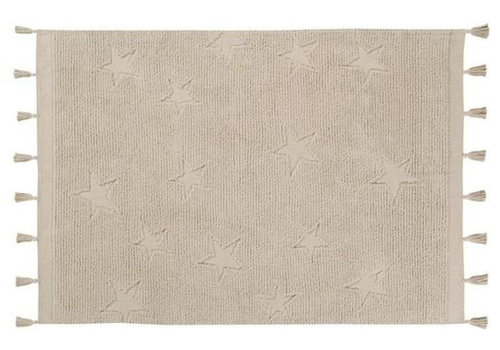 Lorena Canels washable rug Hippy stars natural 120 x 175