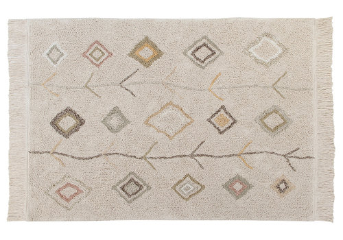 Lorena Canals washable rug Karool earth 140 x 200