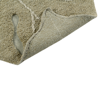 Lorena Canals washable rug Monstera leave olive 120 x 180