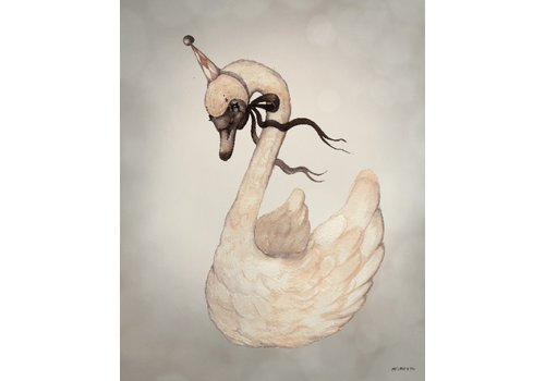 Mrs. Mighetto poster Dear Swan 40 x 50
