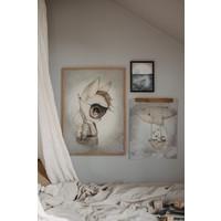 Frau Mighetto-Plakat Herr Fred 50 x 70
