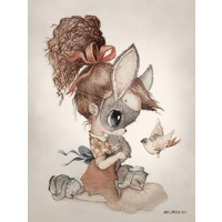 Mrs. Mighetto poster Miss Hollie 18 x 24