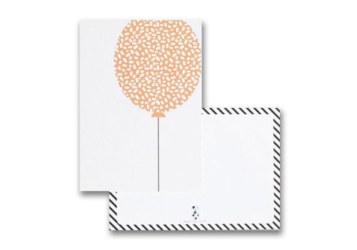 By Studio Steef postcard balloon