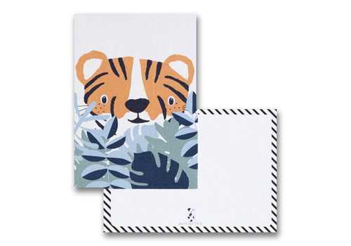 By Studio Steef postcard tiger