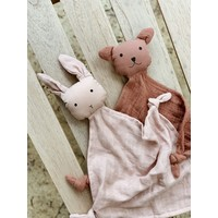 Liewood Yoko mini knuffeldoekje rose mix 2 pack