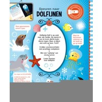 Book Searching for dolphins (flashlight book)
