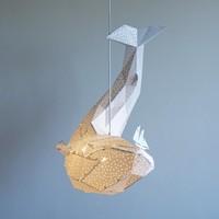 Vasili Lights hanglamp walvis - wit
