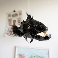Vasili Lights hanglamp Koraalbaars  - zwart