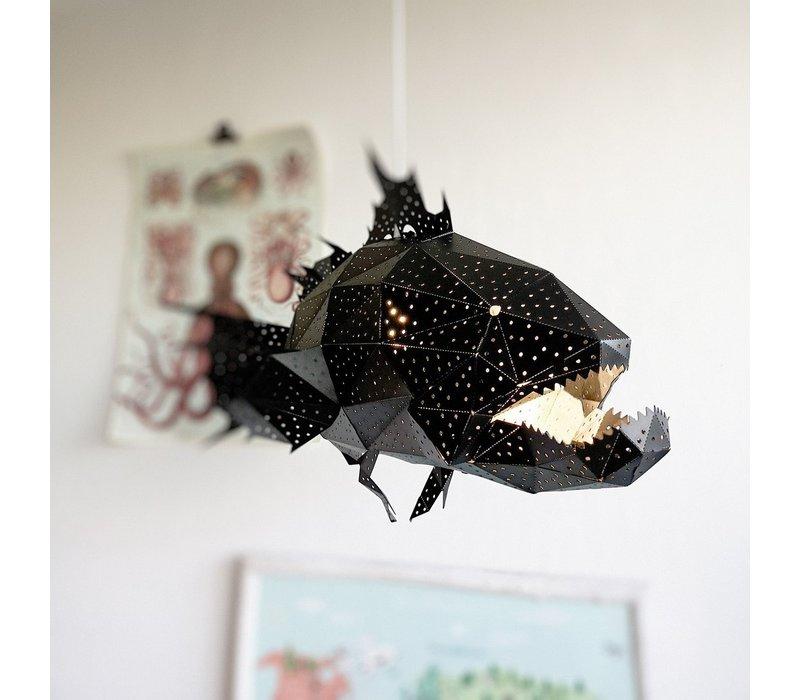 Vasili Lights Giant Lapu Lapu Lamp  - zwart
