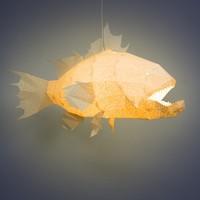Vasili Lights hanglamp grote koraalbaars - wit