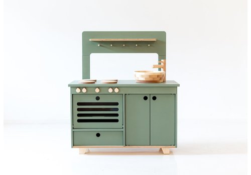 Midmini toy kitchen green