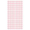 Pom le Bonhomme 120 muurstickers stippen roze 3,5cm