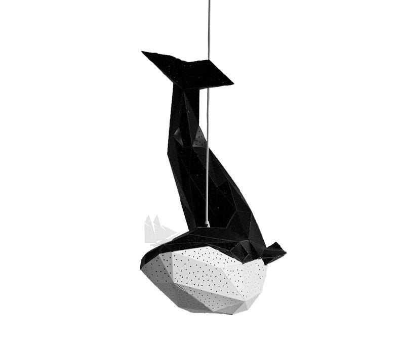 Vasili Lichter hängen Lampenwal - schwarz