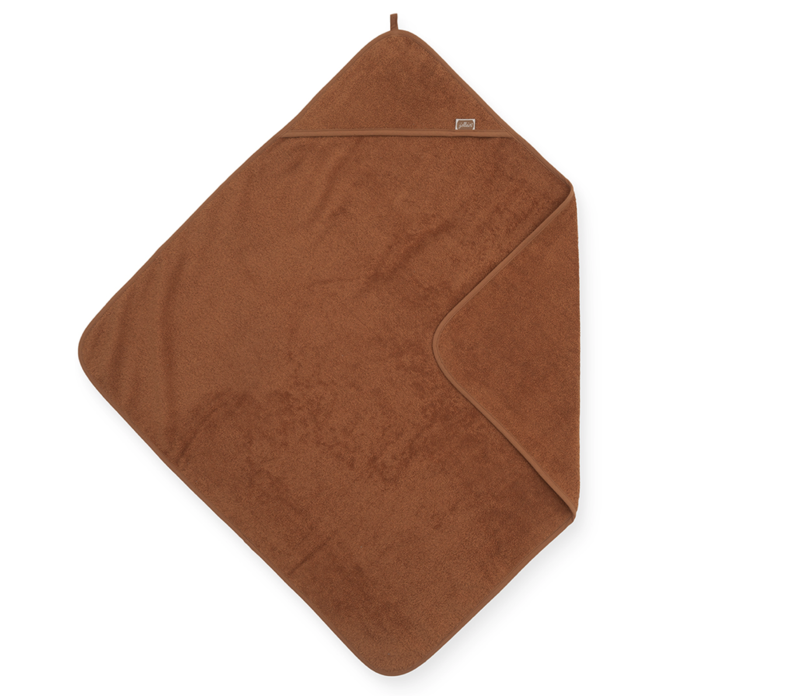 Jollein Bath cape terry 75x75cm caramel