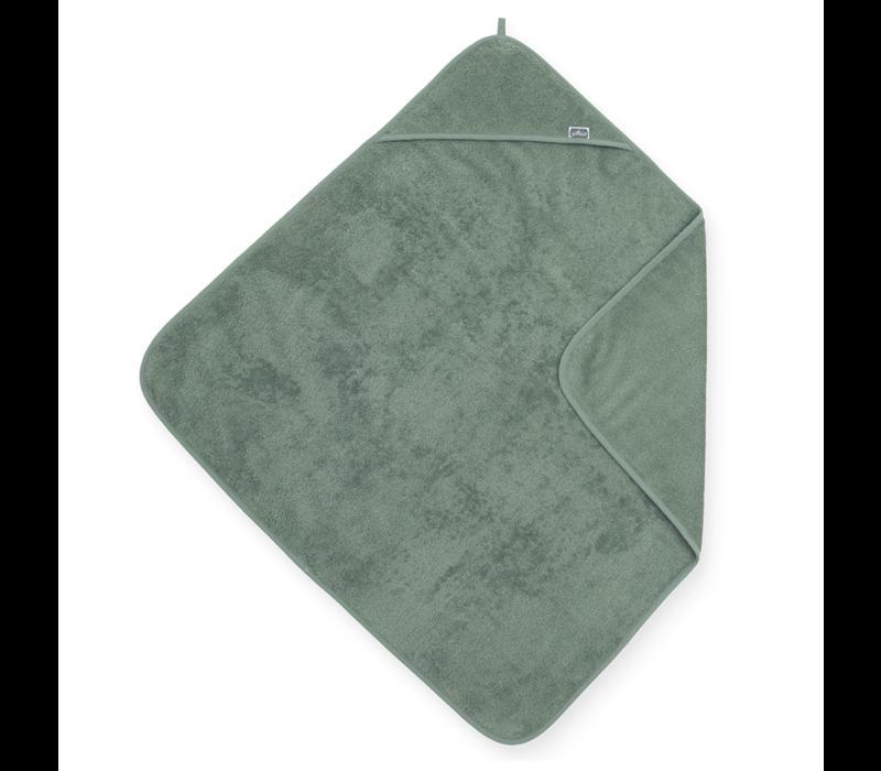 Jollein Badcape badstof 75x75cm ash green