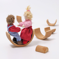 Grimm's Toy's small rainbow naturel