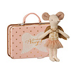 Maileg guardian angel mouse golden wings