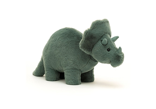 Jellycat plush Fossilly Triceratops