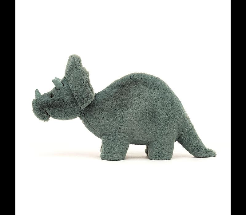 Jellycat Plüsch Fossilly Triceratops