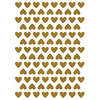 Lilipinso Wandaufkleber Herzen Gold