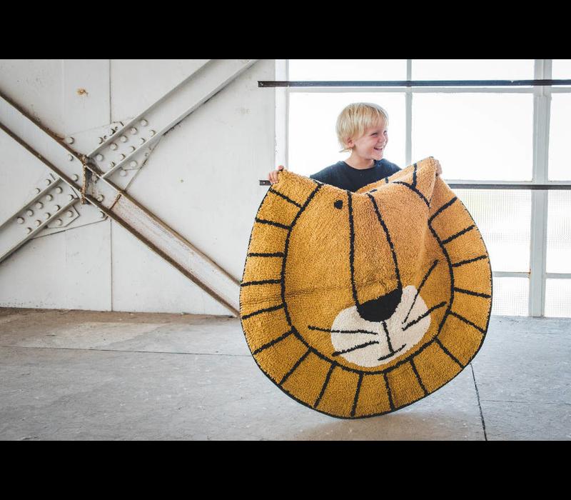 Tapis Petit Teppich Lion - 100x100