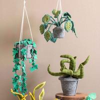 KidsDepot Sanseveria grüner Dekorationspflanzenfilz