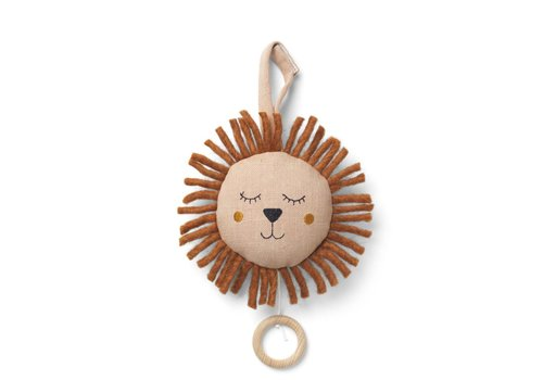 Ferm Living Fruiticana music mobile lion dusty rose