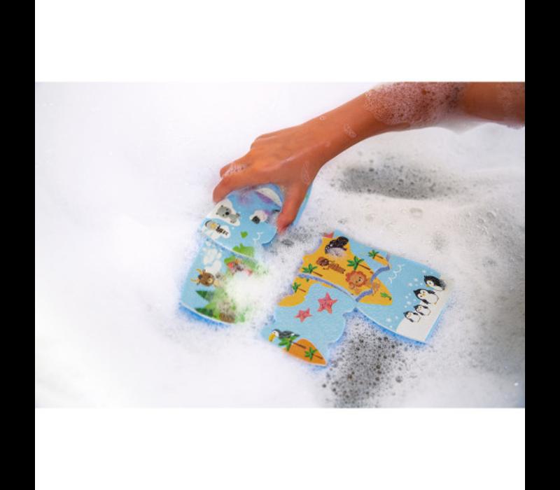 Janod badpuzzel - Wereldkaart