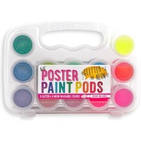 Ooly Paint set with brush neon and glitter