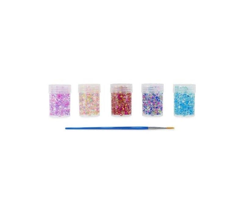 Ooly mini dots pixie pastel glitterlijm