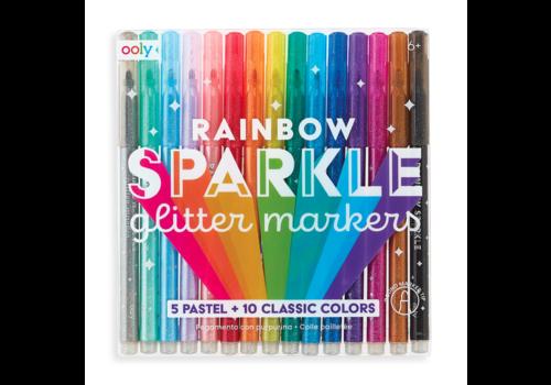 Ooly Regenbogen Glitter Marker