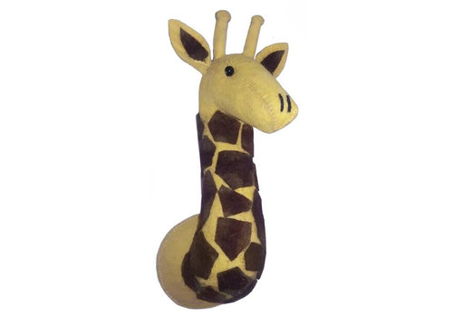 Fiona Walker animal head giraffe mini