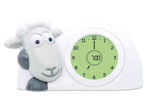 Zazu sleep alarm Sheep Sam gray