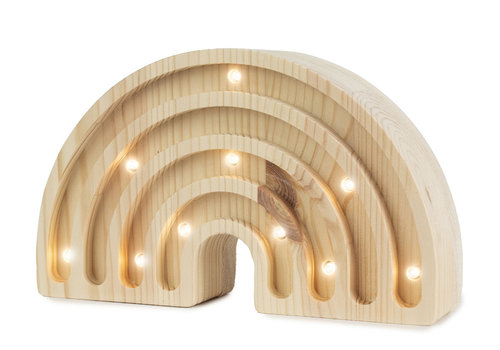 Little Lights rainbow mini wood