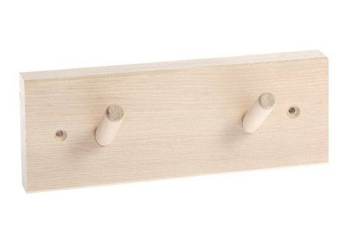 Iris Hantverk coat rack with 2 hooks