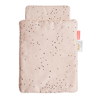 Done by Deer, Dreamy Dots doll duvet, powder