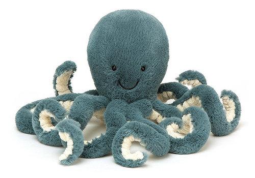 Jellycat knuffel storm little octopus