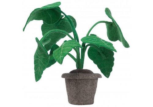 KidsDepot Alocasia decoratie plant vilt