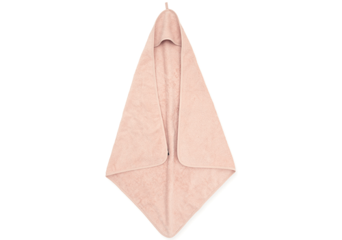 Jollein Bath cape terry 75x75cm pale pink