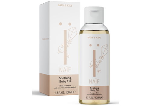 Naïf Care soothing baby oil