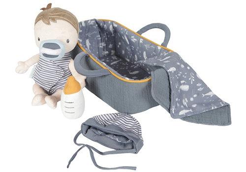 Kleine holländische kuschelige Puppe Baby Jim